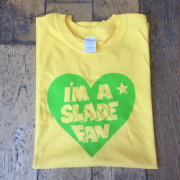 SLADE FAN T-SHIRT YELLOW